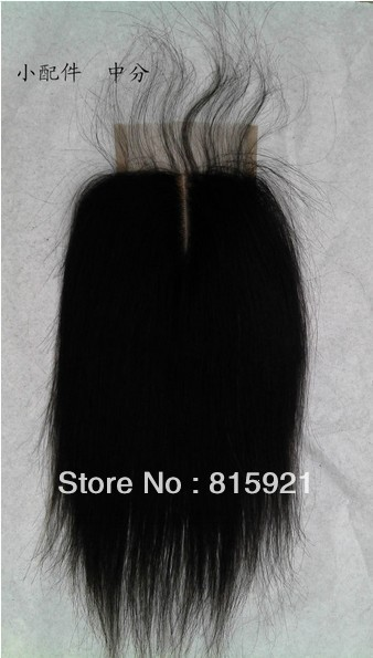 Elegant Wig 4x4 Size Mid-part Natural Looking Lace Frontal Baby Hair 130% Density - EJS Shop store