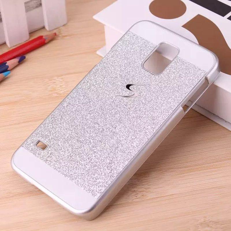 Hot Luxury Diamond Crystal Capa Fundas Case Shinning Bling Hard Flash Plastic Back Cover For Samsung Galaxy S5 Mini G800(China (Mainland))
