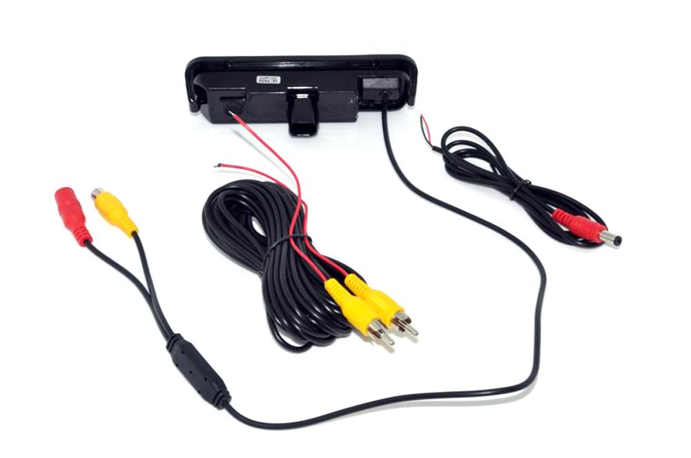 Купить Автоматическое Резервное Копирование Заднего Вида Парковка Комплект CCD Автомобиля Обратный Автомобиль камера Заднего Вида заднего парковочная камера Для Ford Focus 2012