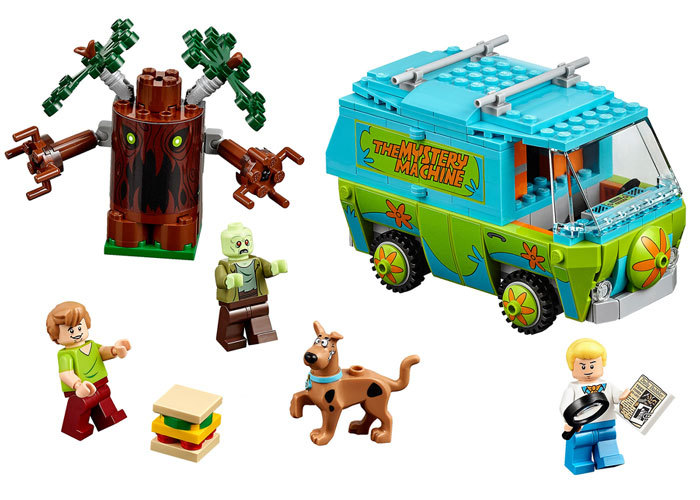 BELA Scooby-Doo The Mystery Machine Building Block Model Kits Scooby Doo Marvel Minifigures magformers Toys Compatible Legoe<br><br>Aliexpress