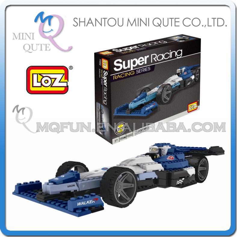 5pcs/lot Mini Qute F1 formula car loz diamond nano block plastic cube building blocks bricks educational toy 3d game NO.F0002(China (Mainland))