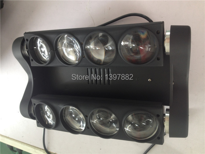 Disco lighting 8x10w RGBW stage effect light led beam dj lights moving heads(China (Mainland))
