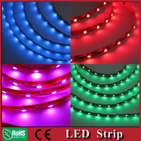 100Meter wholesale high quality 5-6LM/LED 12VDC 3528SMD non waterproof led strip light ribbon tape 60led White Red Green Blue(China (Mainland))