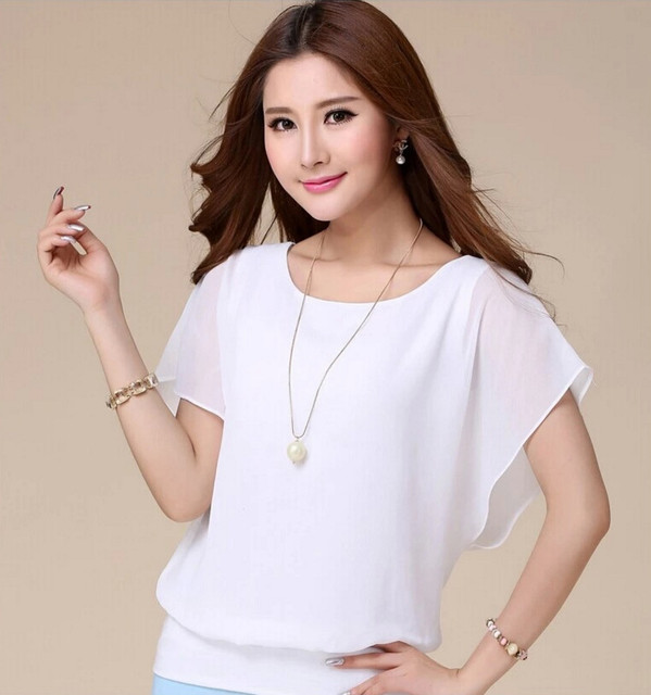 2016 new fashion summer woman top simple short sleeve flounce t shirt fresh cool pure buy fresh cool summer