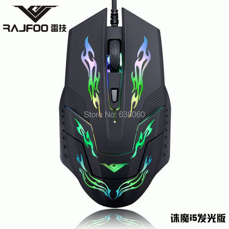 4D Buttons 2400 dpi super laser 7colors LED gaming mouse USB wired Professional game mice For PC Computer Desktop Gamer(China (Mainland))