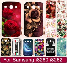 Buy Colorful Flower Rose Butterly Vintage Totem Painted Phone Cover Shell Samsung Galaxy Core i8260 i8262 8260 8262 Phone Case for $1.13 in AliExpress store