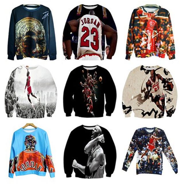 Casual sport Jumper men/women 3d hoodies sweatshirts jordan hoodie basketball sweat shirt hip hop clothes plus size S-3XL