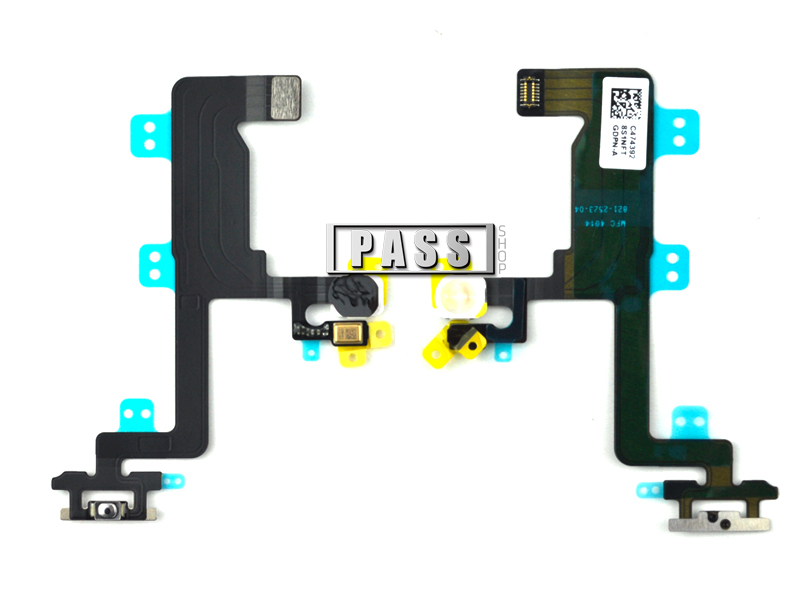 Free shipping, Proximity Light Sensor Flex cable For iphone 6 6G power button switch on / off Flex cable, 4.7 inch,20pcs/lot