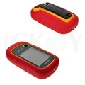 Outdoor Hiking Handheld GPS Protect Red Silicon Rubber Case Skin for Garmin GPS Navigator eTrex 10