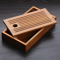 Chinese traditions Bamboo tea tray solid bamboo tea board kung fu tea tools for cup teapot