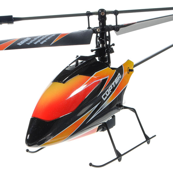 High Quality WLtoys Upgraded Version V911 4CH 2.4Ghz Single Blade Propeller Radio Remote Control RC Helicopter GYRO RTF Mode 2<br><br>Aliexpress