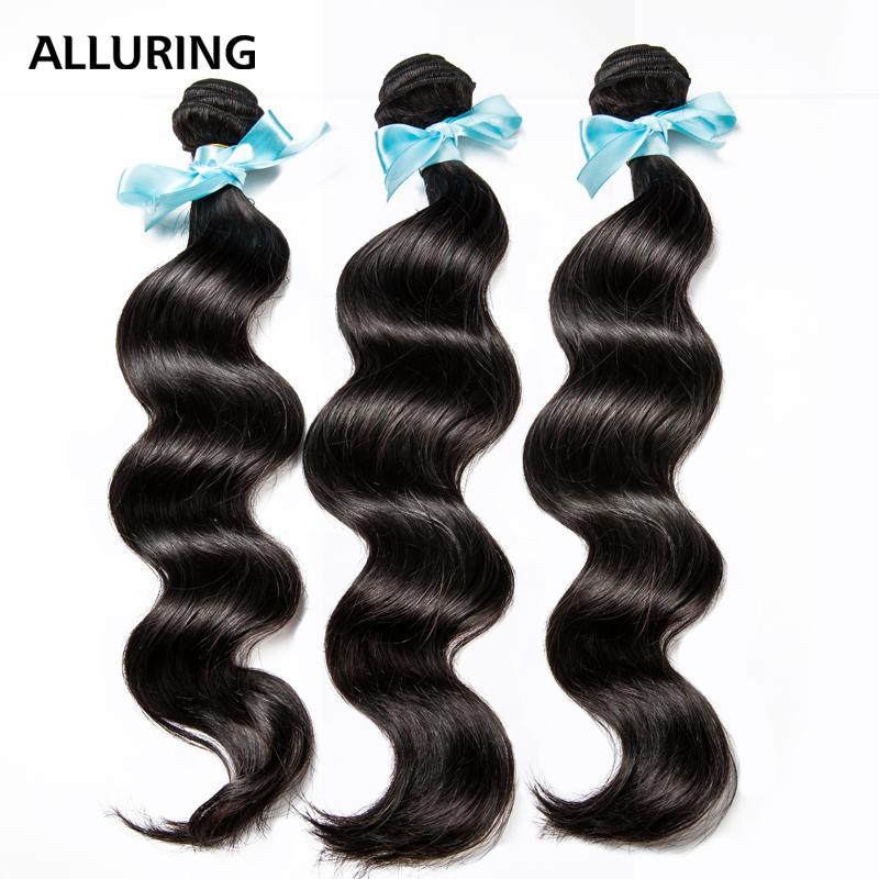 Malaysian Virgin Hair Loose Wave Hair Weave 3 Bundles 100% Human Hair Malaysian Loose Wave 7A Unprocessed Virgin Malaysian Hair(China (Mainland))