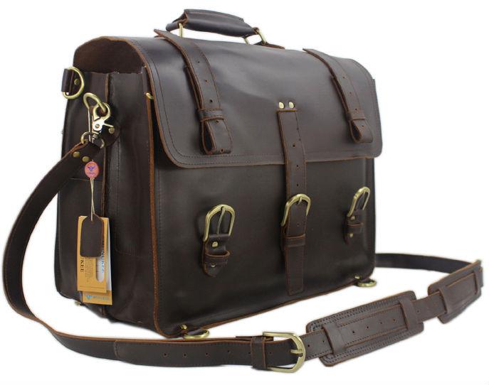 Vintage Men Guarantee 100% Genuine Leather Backpack Large Leather Luggage saddle Backpack Travel Bag Duffle Bag Free Ship M048(China (Mainland))