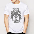 Brand Vintage Retro Cool Rock Roll Punk Tees T Shirts Be Be A Wolf Of Odin
