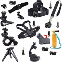 Full Camera Accessories For Sony Action Cam AS20 AS15 AS100V AS30V AZ1 Outdoor Travel Equipment With Selfie+Chest Head Strap Etc