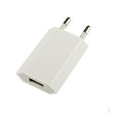 White Universal USB Power Adapter EU Plug 5V AC Micro Usb Wall Charger For iPhone 5s 6s For Xiaomi LG HTC Samsung Adaptador Usb(China (Mainland))