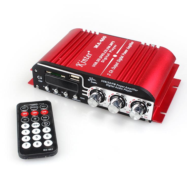 12V  MA-400 power amplifier digital U disk mobile phone card  two channel DC<br><br>Aliexpress