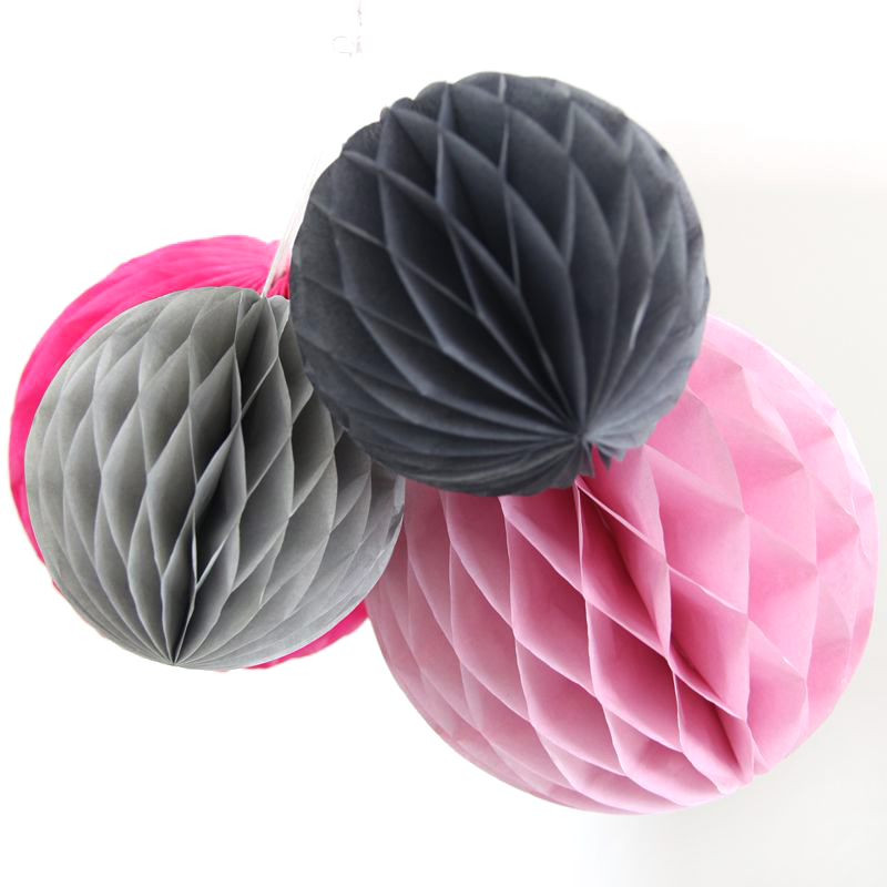 """1PC 10""""(25cm) Popular Round Tissue Paper Lantern Honeycomb Ball For Home Wedding Party/ Baby Shower/ Birthday Party Decorations(China (Mainland))"""