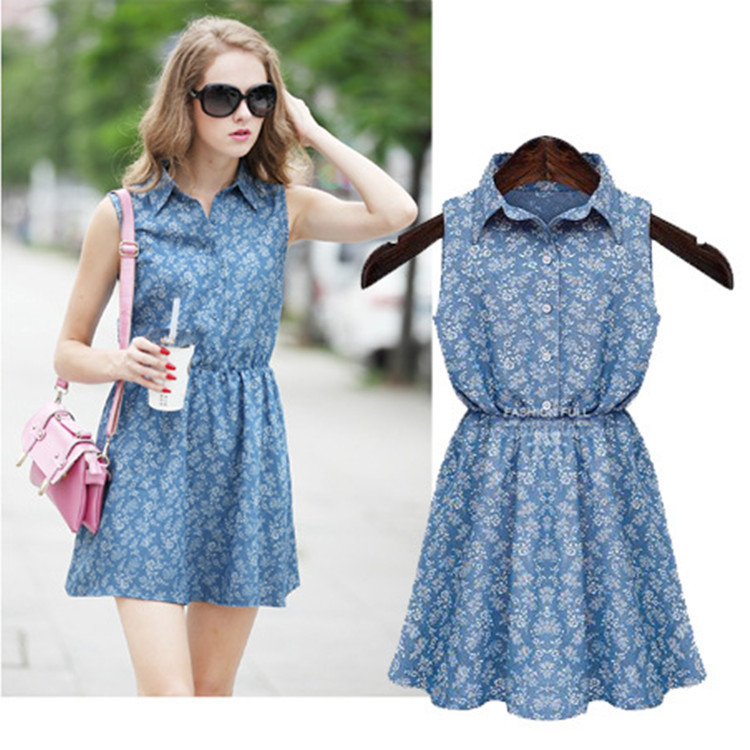 Fantastic Plus Size Denim Dresses 20162017  B2B Fashion