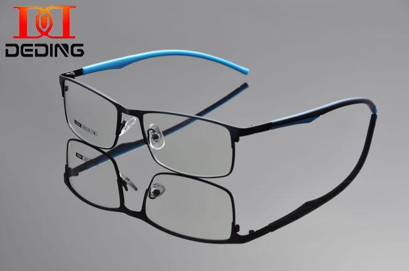 DEDING Half Rim Glasses Frame Prescription Eyeglasses 54 ...