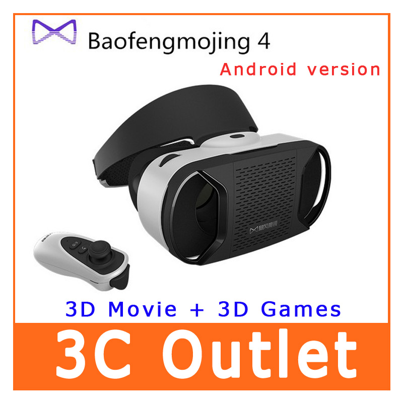3D VR Glasses Baofeng Mojing 4 For 4.7~5.5 Android Smartphone Android 3D Virtual Reality Glasses<br><br>Aliexpress