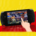 4.3inch portable game,8G MP5 Game Player, Camera Recorder FM radio handheld Game Console, tetris hand held games-Black
