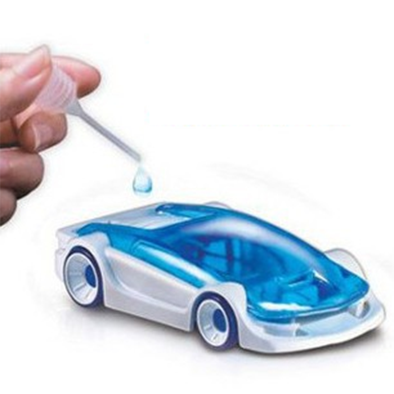 New Creative Car toys Kits, Salt Water Fuel Car Green Energy Assembled Toys Gift For Kids Children Educational Toy Vehicles(China (Mainland))
