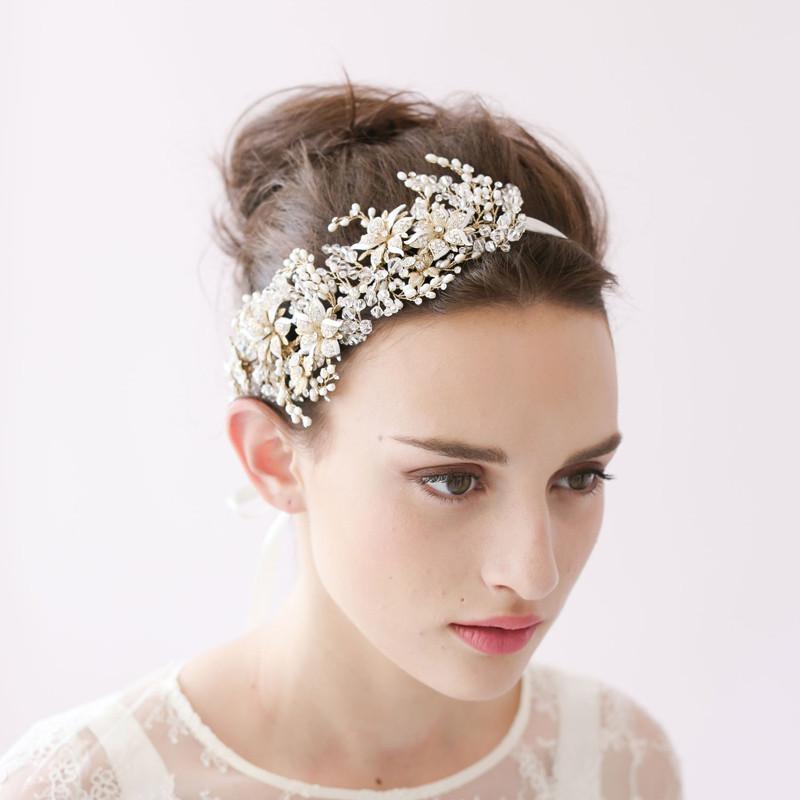 fleur de mariage casque promotion achetez des fleur de mariage casque promotionnels sur. Black Bedroom Furniture Sets. Home Design Ideas