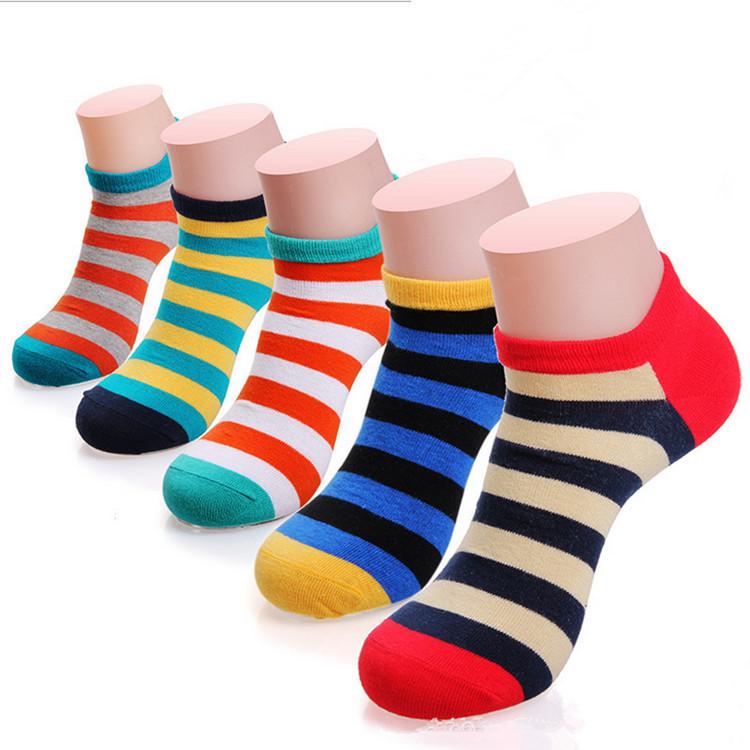 5 pairs/LOT, Men Boat Socks Athletic Men's Sport Socks,Cotton Boat Ankle Socks ,Breathable Spring Summer Autumn Socks(China (Mainland))