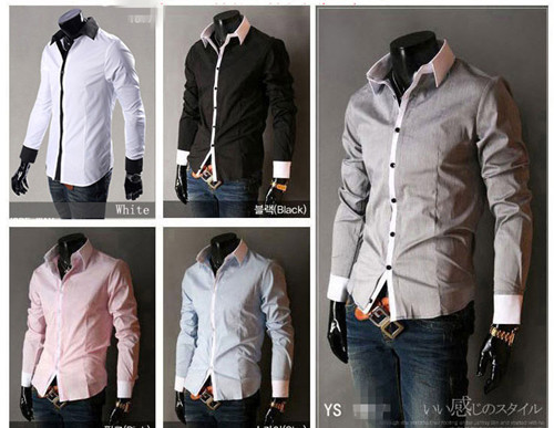 New Mens Fashionable Hot Sexy Casual Luxury Style Business