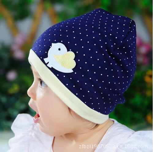 Lovely Spring Autumn Beanie Dot Chicken Infant Cotton toddlers warm winter Knitted Newborn Crochet Baby Hat Girl Boy Cap(China (Mainland))