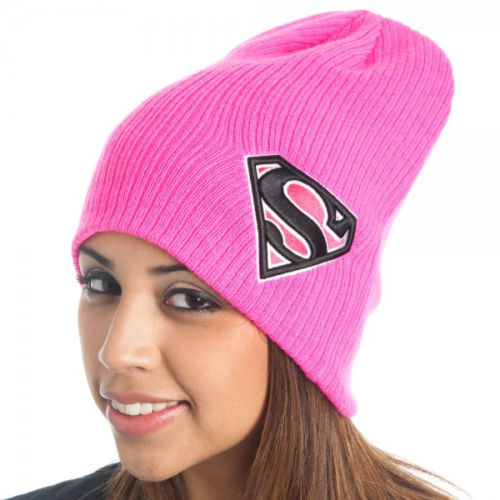 Winter Hat Men Warm Superman Knitted Slouchy Beanie Pink Hats For Women Ski Skullies 2015 New Wool Cap Bonnet Gorro Masculino(China (Mainland))