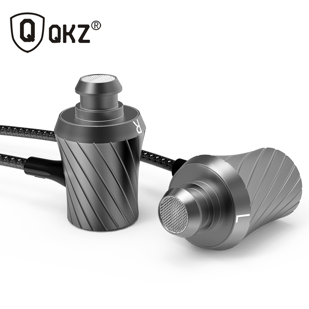 100% Original Earphone QKZ DM3 Luxury Stereo Earphones Headset 3.5mm In Ear Earphone With Mic For iPhone Samsung And MP3 DJ HTC(China (Mainland))
