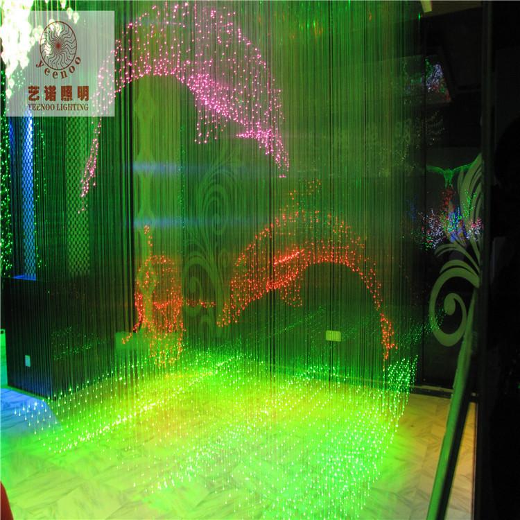 China led fiber optics lighting Stylish walkway lights home theater wall decor led solar fiber optic(China (Mainland))