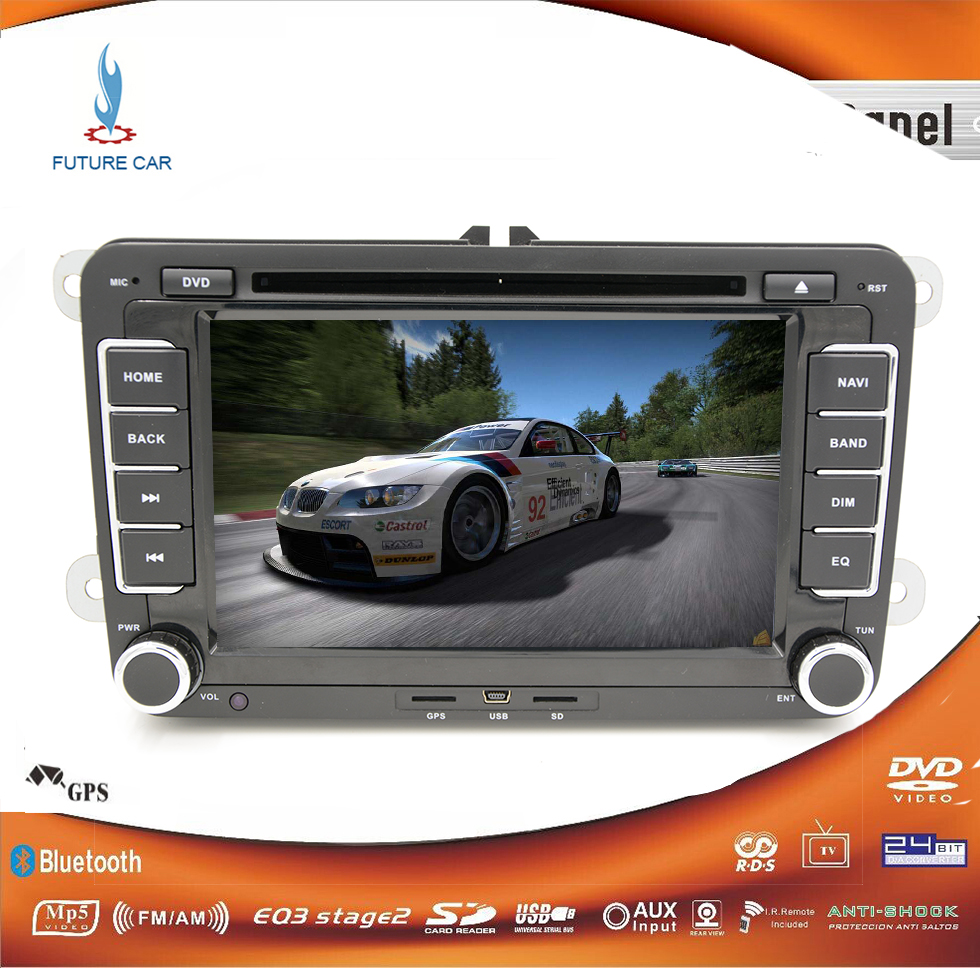 buy 7 inch 2 din car dvd gps radio player volkswagen vw. Black Bedroom Furniture Sets. Home Design Ideas