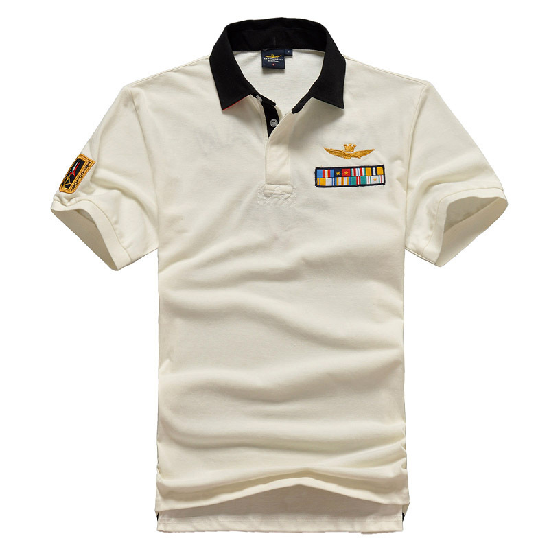 New summer aeronautica militare embroidery polos shirts for All polo shirt brands