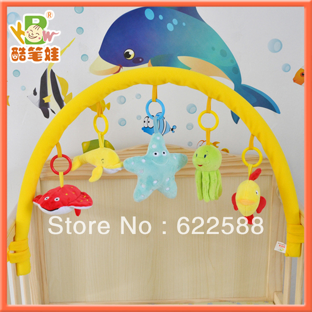2013 Free shipping Toy baby bed bell bed hanging rattles, cindy structurein charm baby car toy accessories