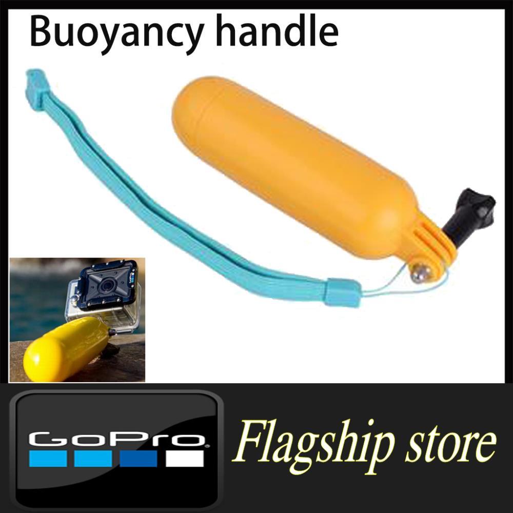 Gopro accessories Bobber Floating Handheld Stick Floaty Grip + Wrist strap+Screw hero 32 1 sj4000 acessorios - Smart Living Center store