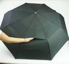 Free shipping Fully-automatic high quality umbrella folding umbrella male windproof umbrella man commercial umbrella(China (Mainland))