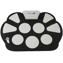 Portable Musical Instrument Electronic 9 Pad Roll-Up Drum Kit(China (Mainland))