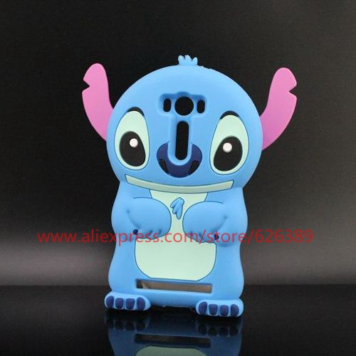 For ASUS ZenFone 2 Laser ZE500KL Cartoon Stitch Silicone Cell Phone Case Cover(China (Mainland))