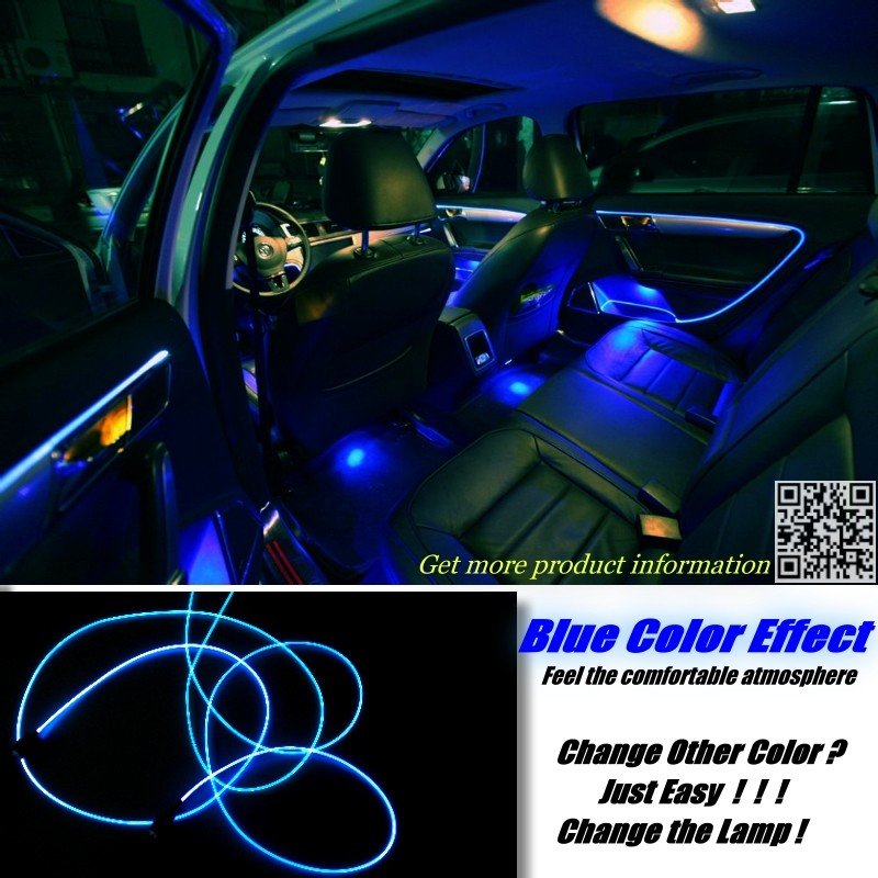 Panel illumination Ambient Light For Volkswagen VW Transporter T5 Caravelle Multivan 4