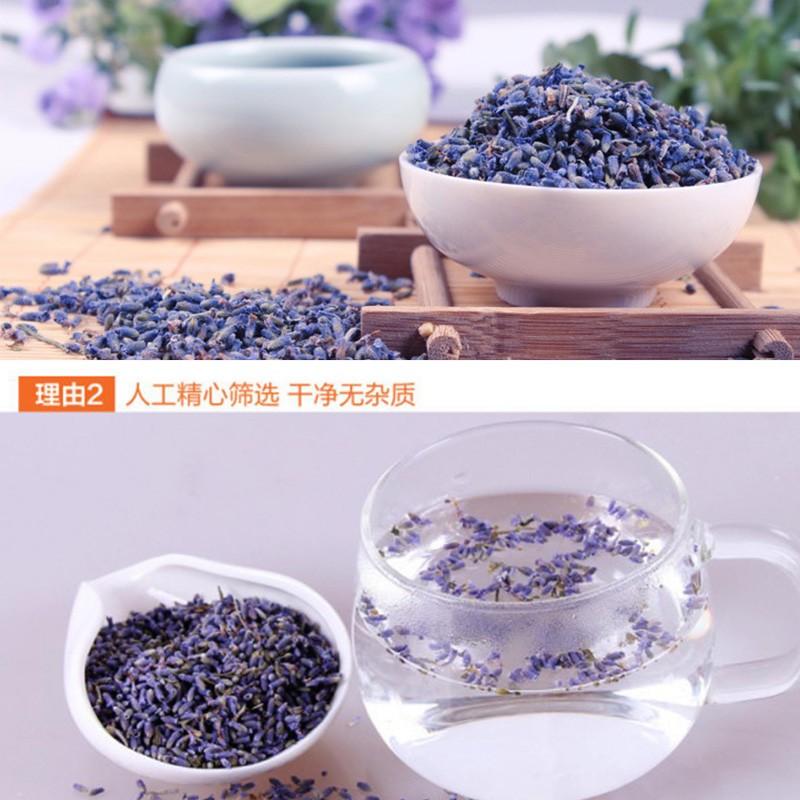 100g Da Flor Da Alfazema Natural De Ervas Secas de Lavanda Flor Premiunm Barato Chinês Florescendo Chá Da Flor de Lavanda Chá de Lavanda