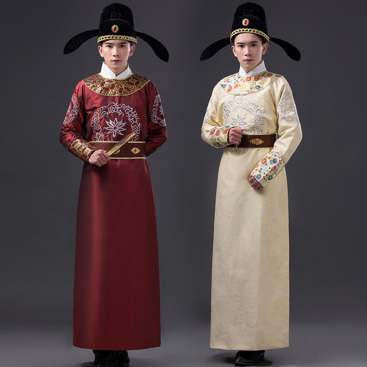4 pcs Chinese Ancient Costume set With Hat Di Renjie Movie Costume High Quality  Men Chinese Traditional Costume  17Одежда и ак�е��уары<br><br><br>Aliexpress