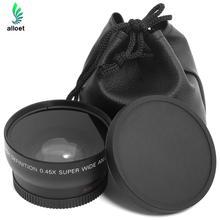 Buy Hot Sale HD 0.45x 52mm Super Wide Angle Lens Macro Lens Carry Bag Nikon D800, D3200, D3100, D5100,D7000 for $10.29 in AliExpress store