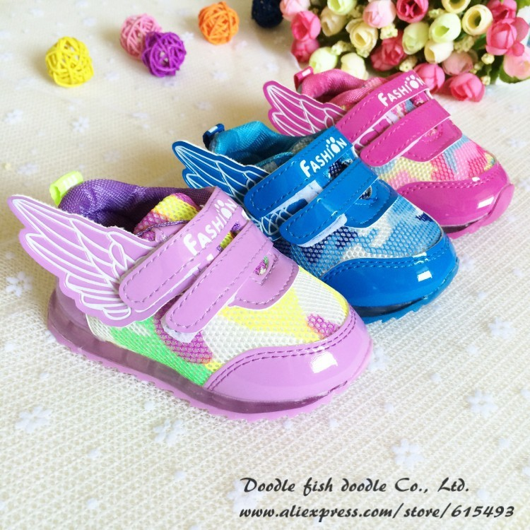 2015 Fashion Camo Girls Baby Shoes Rubber-Soled Kids Casual Sport Non-Slip Infant Toddler 9904 - Nanaleer Online Store store