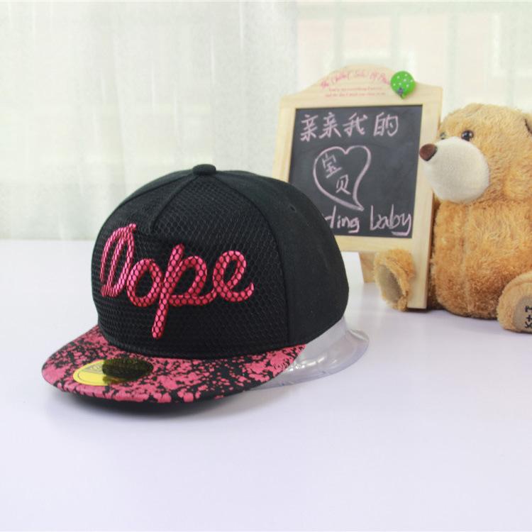 Cap Limited Unisex Novelty Bone Aba Reta Hats 2015 New Summer Hat Cap Flat Along The Trend Korean Children Hip Hop Baseball(China (Mainland))