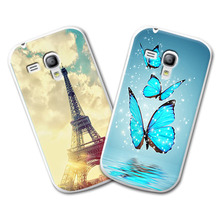 Buy Grid Hard Plastic Case samsung galaxy s3 mini Case Cover samsung i8190 Case+Stylus Gift for $1.88 in AliExpress store