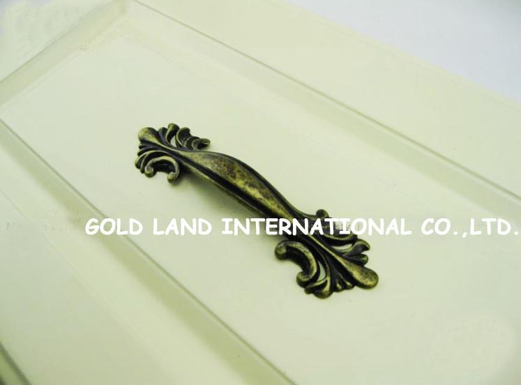 64mm Free shipping bronze-color zinc alloy coat cabinet drawer handle furniture door handles