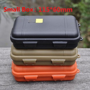 New Outdoor Shockproof Waterproof Box Airtight Survival Case Containers For Storage EDC Travel Hiking Carry Sealed Box Free Ship(China (Mainland))